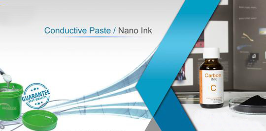 Silver particles conductive ink